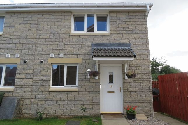 Thumbnail End terrace house for sale in Woodlands Walk, Westhill, Inverness