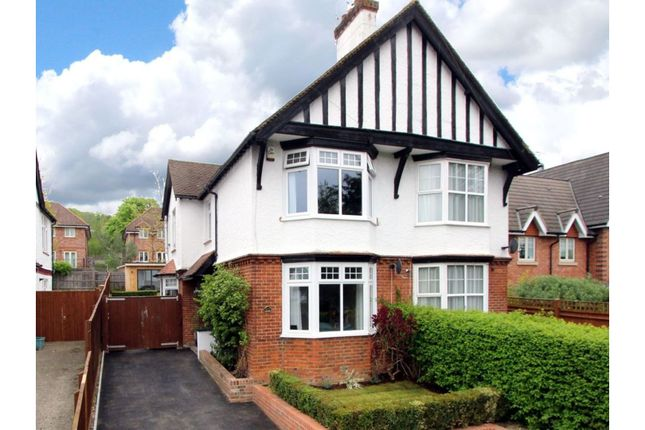 Semi-detached house for sale in West Wycombe Road, High Wycombe