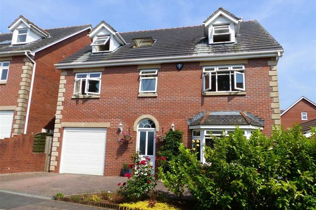 Thumbnail Detached house for sale in Oakwood House, Dinham Road, Caerwent
