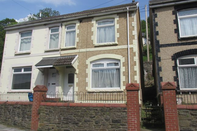 Thumbnail Semi-detached house for sale in Greys Place, Merthyr Vale, Merthyr Tydfil