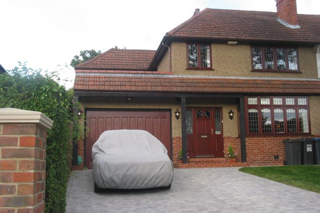 Thumbnail Semi-detached house for sale in Farley Road, South Croydon, Surrey