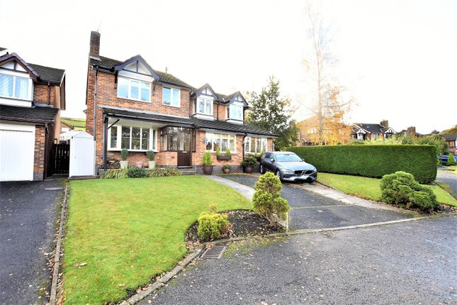 Thumbnail Detached house for sale in River Bank Way, Glossop