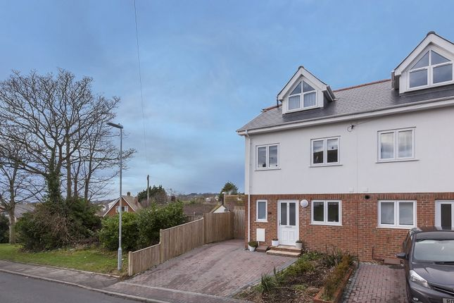 Thumbnail End terrace house for sale in Fairlight Road, Hastings, East Sussex.