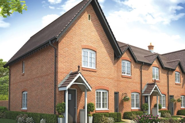 "Thumbnail Semi-detached house for sale in ""The Sunderland"" at Riber Drive, Chellaston, Derby"