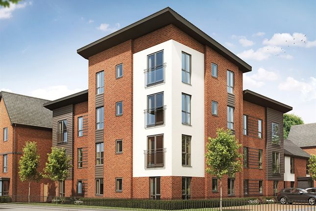"Thumbnail Flat for sale in ""One Bedroom Apartment"" at Chadwick Close, Rednal, Birmingham"