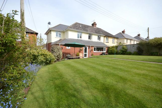 Thumbnail Semi-detached house for sale in Riverview Terrace, Exminster, Exeter, Devon
