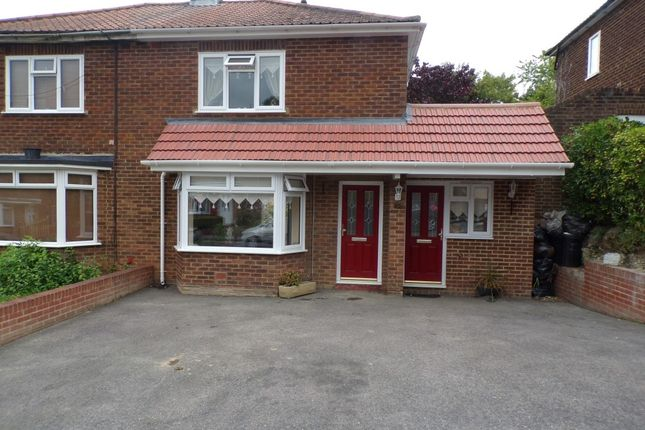Thumbnail Semi-detached house for sale in Anchor Road, Rochester