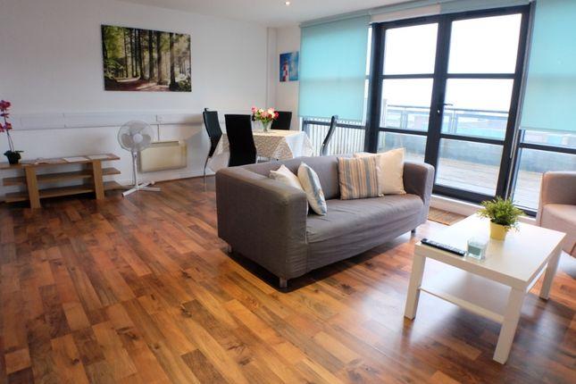 Thumbnail Flat to rent in Castle Lofts, Swansea