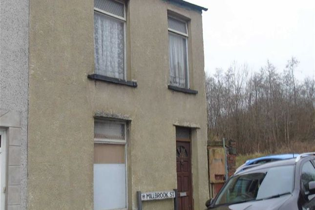 Thumbnail End terrace house for sale in Millbrook Street, Swansea