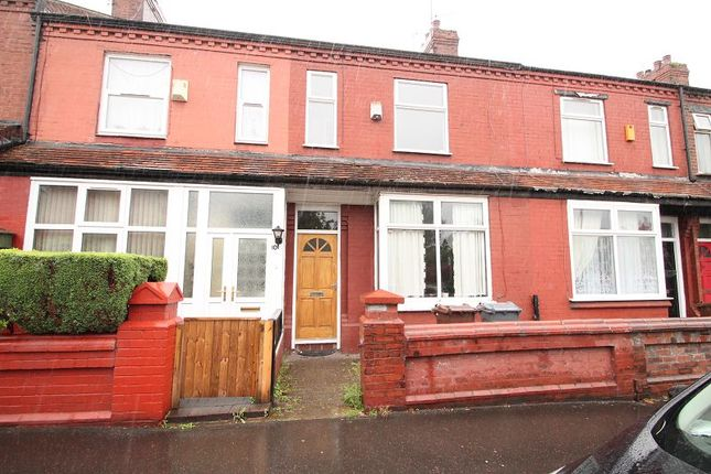 Thumbnail Terraced house to rent in Cumbrae Road, Manchester
