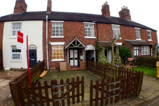 2 bed terraced house to rent in Canal Side, Barlaston, Stoke-On-Trent