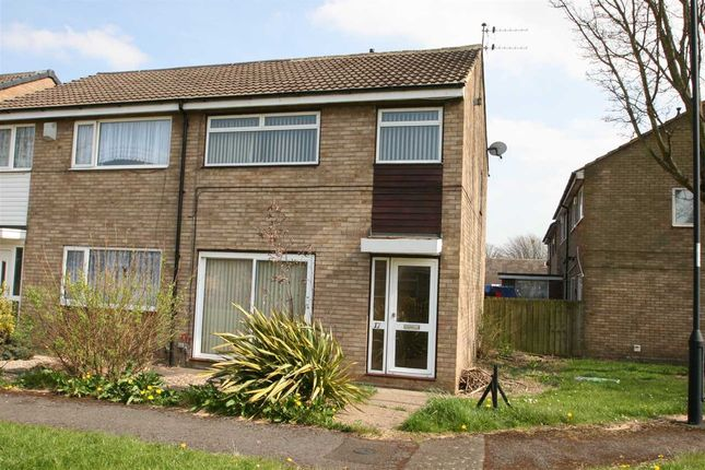 Thumbnail Semi-detached house to rent in Redcroft Green, Blakelaw, Newcastle Upon Tyne
