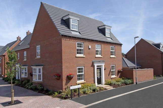 "Thumbnail Detached house for sale in ""Hertford"" at Fen Street, Brooklands, Milton Keynes"