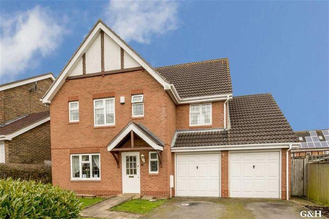 Thumbnail Detached house for sale in Frank Edinger Close, Kennington, Kent