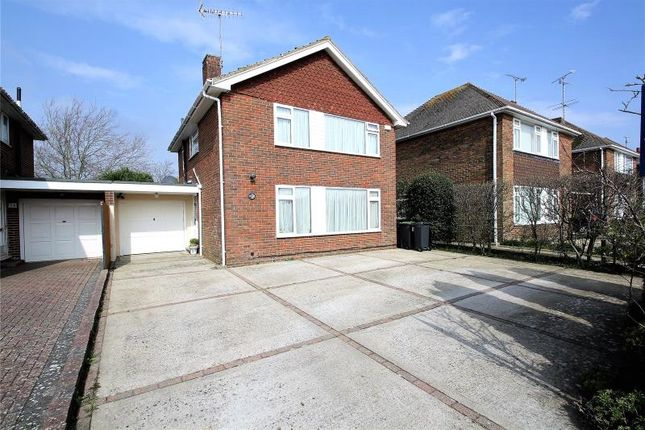Thumbnail Link-detached house for sale in Cumberland Avenue, Goring By Sea, Worthing