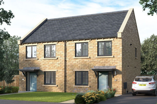 "Thumbnail Semi-detached house for sale in ""The Kilmington"" at Norwood Avenue, Menston, Ilkley"