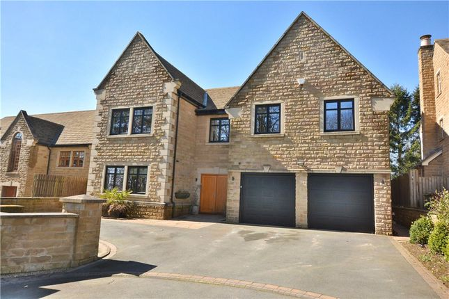 Thumbnail Detached house for sale in Manor Gates, Bramhope, Leeds, West Yorkshire