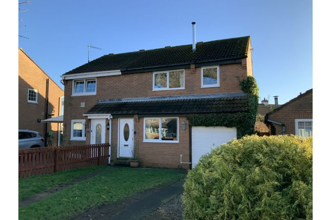 Thumbnail Semi-detached house for sale in Riverdene, Berwick-Upon-Tweed