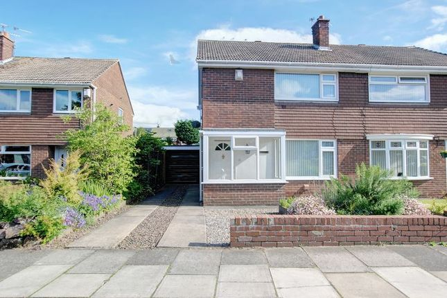 Thumbnail Semi-detached house to rent in Shearwater Way, Blyth