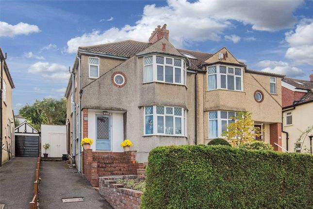 Thumbnail Semi-detached house for sale in Downs Cote Drive, Westbury-On-Trym, Bristol