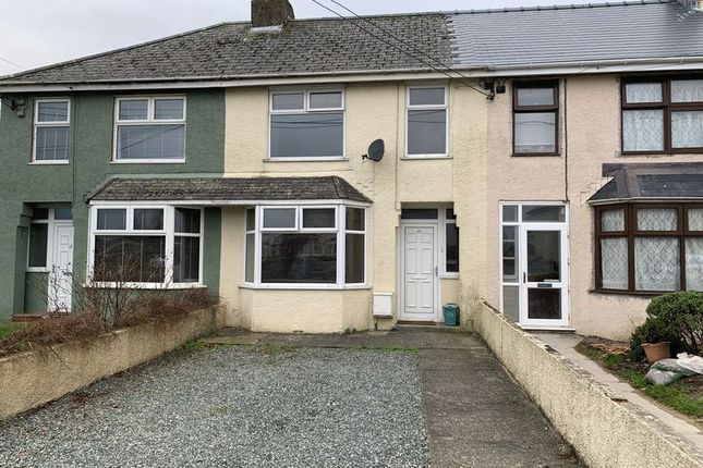 Thumbnail Terraced house to rent in Richmond Crescent, Haverfordwest