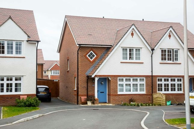 Thumbnail Semi-detached house for sale in Ivy Close, Manor View, Trelewis