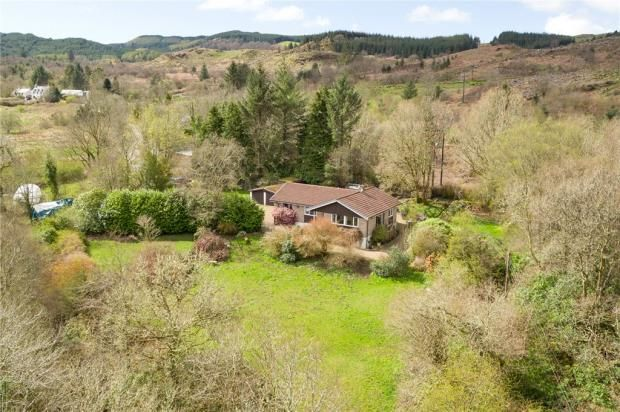Thumbnail Detached bungalow for sale in Breesfalt, Minard, Inveraray, Argyll And Bute