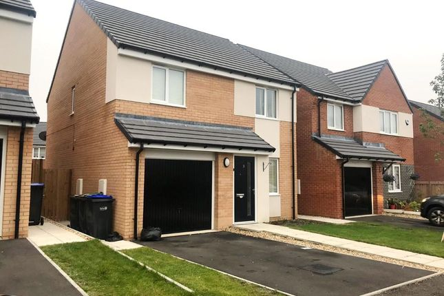 Thumbnail Detached house for sale in Sugarhill Crescent, Cobblers Hall, Newton Aycliffe
