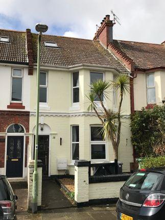 Thumbnail Maisonette to rent in Kings Road, Preston, Paignton