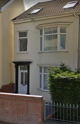 Thumbnail Terraced house to rent in Dillwyn Road, Sketty, Swansea