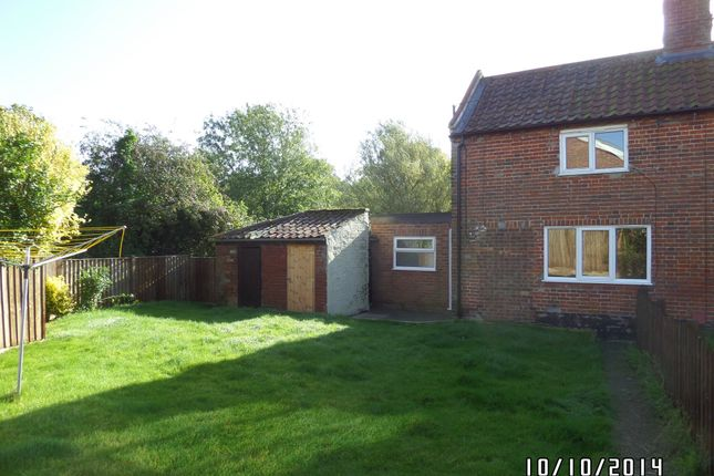 Thumbnail Cottage to rent in Low Street, Ilketshall St. Margaret, Bungay