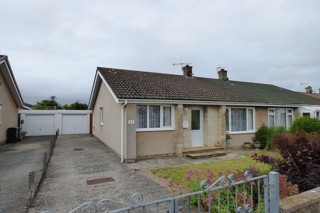 Thumbnail Semi-detached bungalow for sale in Moorcroft Road, Hutton, Weston-Super-Mare
