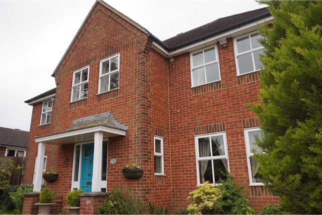 Thumbnail Detached house for sale in Fountains Close, Ashford