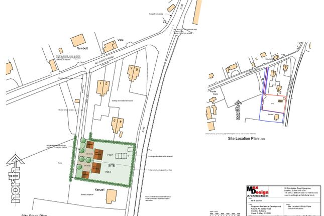 Thumbnail Land for sale in Creeting Bottoms, Creeting St. Mary, Ipswich