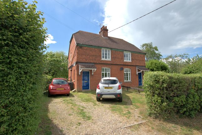 Thumbnail Semi-detached house to rent in Newmarket Road, Great Chesterford, Saffron Walden