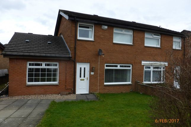 Thumbnail Semi-detached house to rent in Newbattle Road, Glasgow