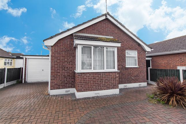 Thumbnail Detached bungalow for sale in Wittem Road, Canvey Island