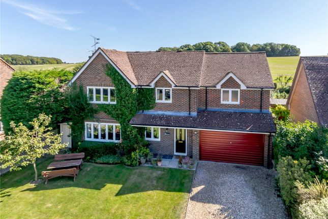 Thumbnail Detached house for sale in Alton Road, South Warnborough, Hook, Hampshire