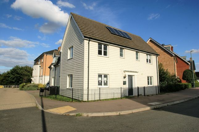 Thumbnail Detached house for sale in Gilders Road, Little Canfield, Dunmow
