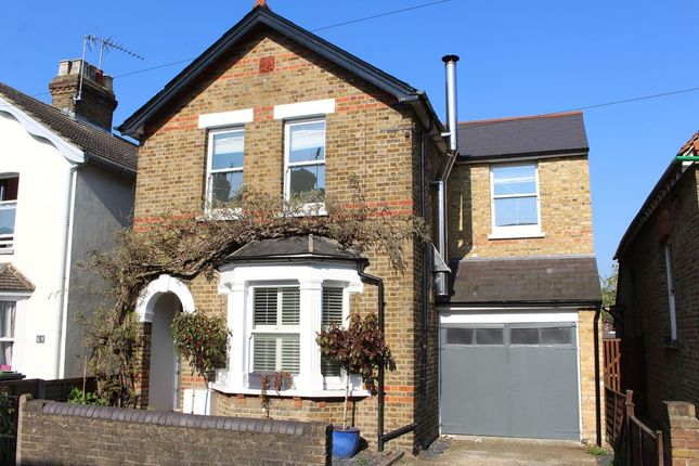 Thumbnail Detached house to rent in Hummer Road, Egham