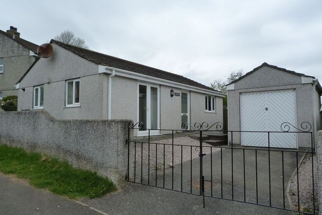 Thumbnail Detached bungalow to rent in Pengover Close, Liskeard