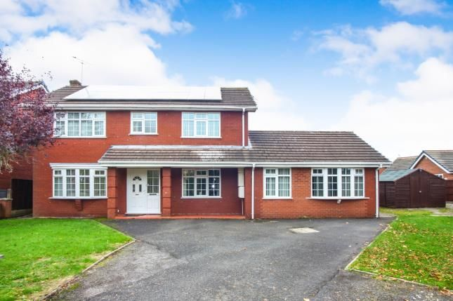 Thumbnail Detached house for sale in Plover Avenue, Winsford, Cheshire