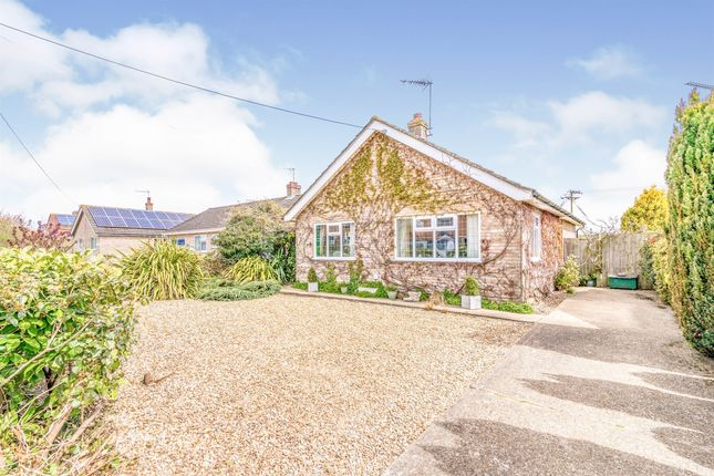 Thumbnail Detached bungalow for sale in Sun Road, Broome, Bungay