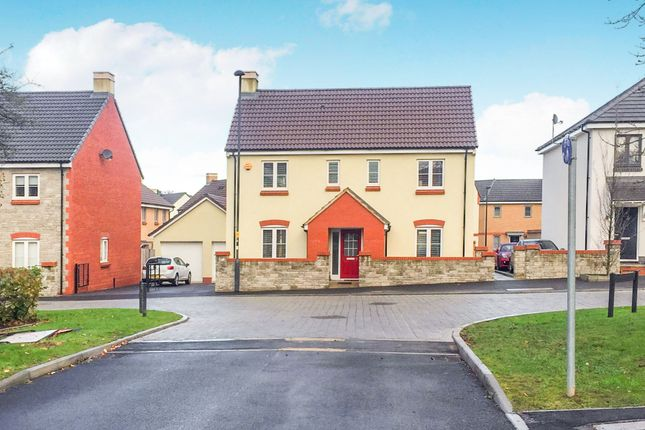 Thumbnail Detached house for sale in Oxleigh Way, Stoke Gifford, Bristol