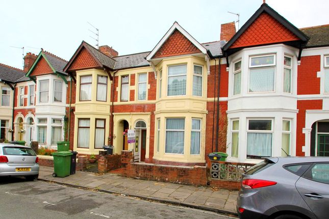 Thumbnail Terraced house to rent in Summerfield Avenue, Cardiff