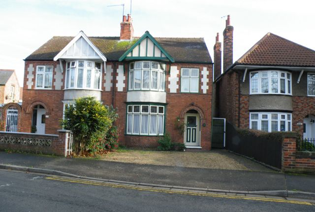 Thumbnail Semi-detached house to rent in Stanley Road, Peterborough