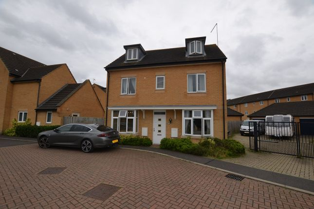 Thumbnail Detached house to rent in Coppen Road, Hampton Vale, Peterborough