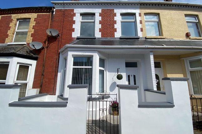 Thumbnail Terraced house for sale in Wyndham Street, Barry