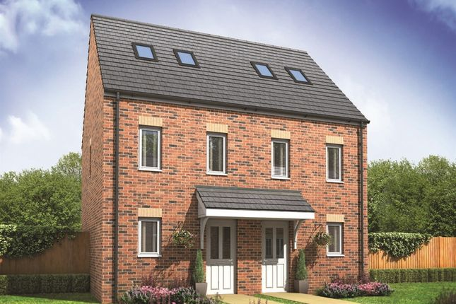 "3 bedroom end terrace house for sale in ""The Moseley"" at Church Road, Old St. Mellons, Cardiff"