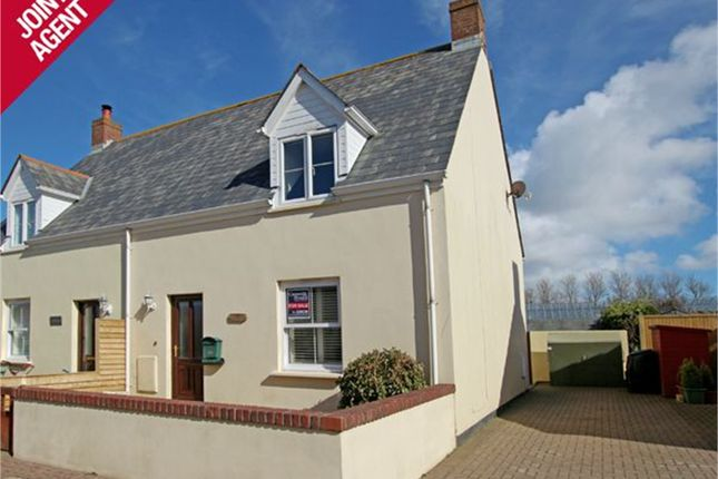 Thumbnail Semi-detached house for sale in 2 Clos De Haut Terrain, Route Des Clos Landais, St Saviour's
